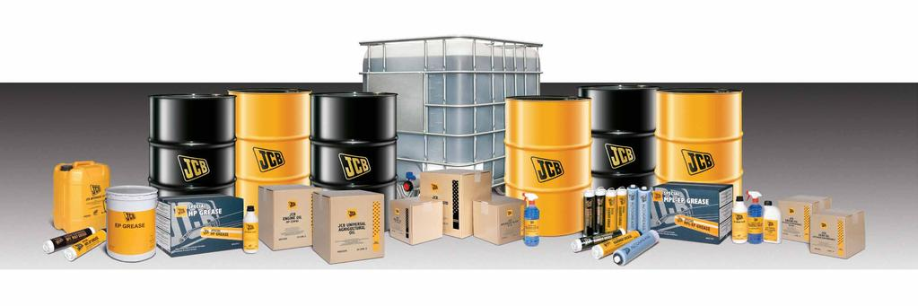 JCB LUBRICANTS INTRODUCTION You choose a JCB machine because it s the best in the business You choose JCB lubricants because they will help maximise your investment JCB never compromises when it
