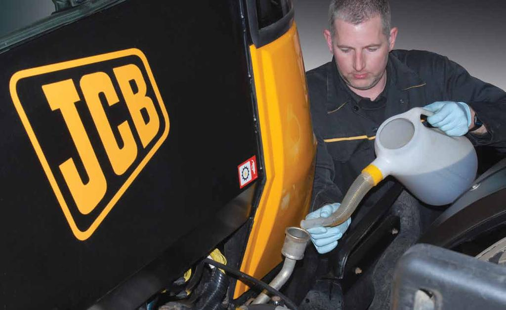 JCB LUBRICANTS AGRICULTURAL OILS A smart choice for a broad range of agricultural requirements Single versatile product