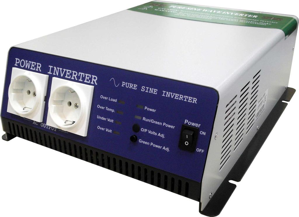 DC TO AC POWER INVERTER 12V / 24V / 48Vdc Input 115V / 230Vac Output