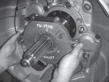 Note: The Transmission and ECA must be removed prior to removing the LCIB. 1.