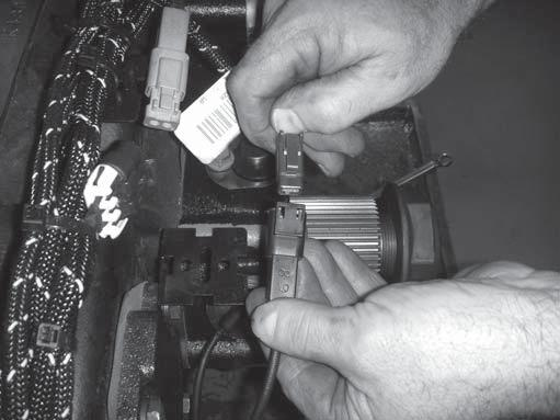 1. Disconnect the Transmission Harness from the