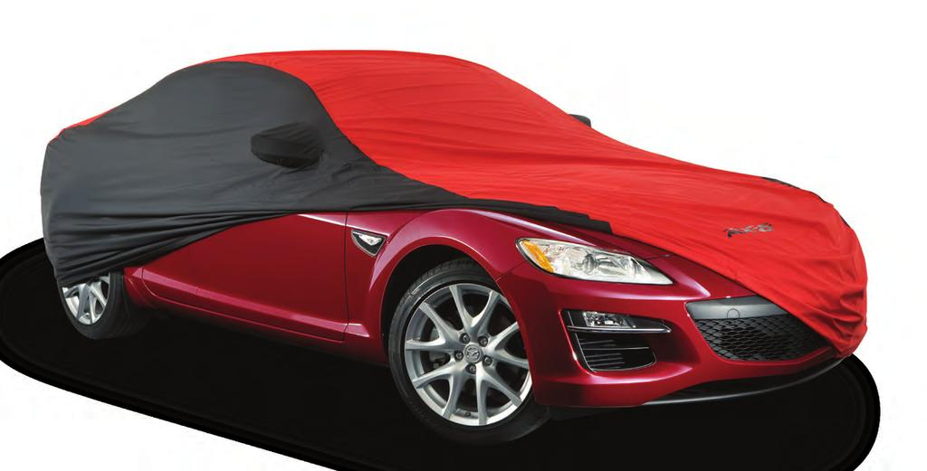 This padded layer of protection minimizes damage when the rear door is closed