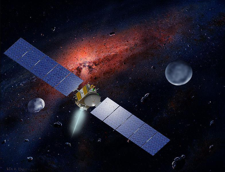and asteroids Not That: Dawn Spacecraft Results in very long travel times for missions Not