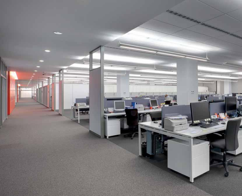 The OSRAM Professional Luminaire Offer OSRAM S professional luminaire offer covers all the requirements for energy efficient, state-of-the-art and attractive commercial lighting solutions.