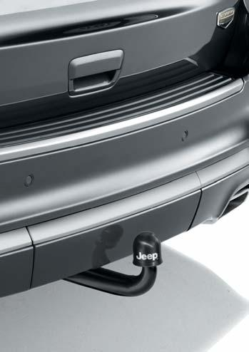 capacity is 3.500 kg. The tow ball system gets stored under the car automatically with one click.