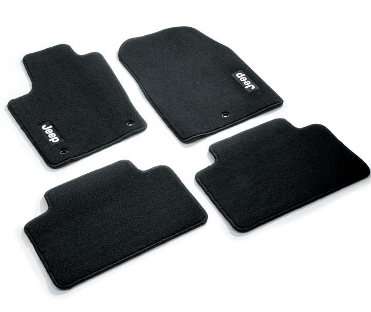 K82212172AC * In dark slate grey with Jeep logo. Set of 3. For MY 2014.