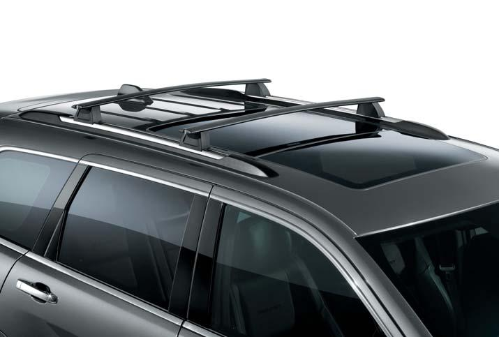 CAPABILITY REMOVABLE CROSS BARS Sport utility bars to be used with all carriers. Lockable includes keys.