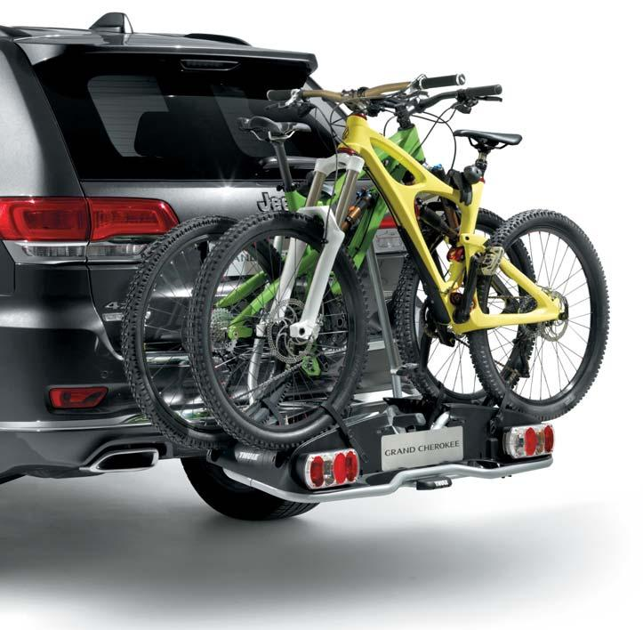 CAPABILITY HITCH-MOUNT BIKE CARRIER FOR E-BIKES To