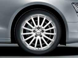 When our experts test the quality of Audi Genuine Accessories wheels, they are just