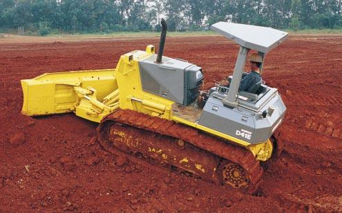Excellent Grading Ability Outstanding Stability: The large ground contact area created by the long tracks and wide track gauge combine