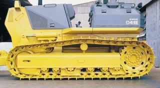 dozer for heavy-duty jobs even in soft, muddy areas.