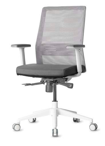 BODI Task, Conference, Executive Features Available in Black and Light Grey Removable/Washable Seat Covers in 8 colors Syncro with Tension Adjuster