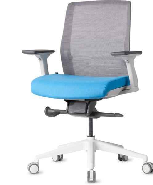 ZILO Task, Conference, Executive Features Choose from standard configurations or customize your own Available in Black and Light Grey High or Mid Back 3-way Adjustable Arm Rest or Fixed Loop Arms