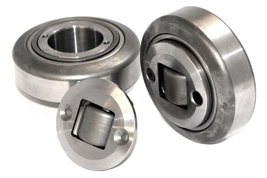Combined Roller Bearings SHIM ADJUSTABLE CR BEARINGS Weldable Stub Axle / Hub H h Radial Roller Adjustable Axial Roller D T d S Mating Steel Profile B A These combined bearings are adjustable by
