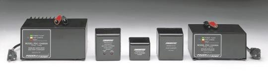 SLA Battery Chargers FEATURES Electronically regulated - current limited chargers for sealed lead-acid type batteries.
