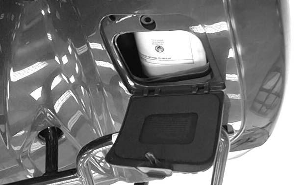 OWNER S MANUAL STORAGE COMPARTMENT Your ATV provides storage for the owner s manual so you ll have it with you