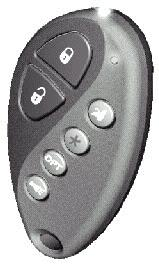 Using Your Remote Transmitter Arming the Security System To arm the system, exit the vehicle, close all doors, then press the LOCK icon button on the transmitter.