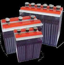 STT Series Low Maintenance Tubular Flooded Batteries OPzS 6 & 12 Volt Blocks (55 330 Ah) SBS has been selling tubular lead-selenium vented batteries for nearly 20 years.