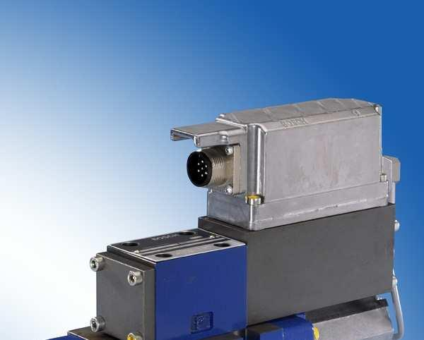 Servo Solenoid Valves Servo Solenoid Pilot Operated Main stage has proportional spool in cast