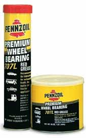 Greases Pennzoil offers a complete line of multi-purpose greases for virtually any automotive application, from steering to ball joints to conventional brakes.