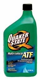 Automatic Transmission fluid There are various OEM (Original Equipment Manufacturer) requirements for transmission fluids today, and Quaker State products are especially formulated to meet those