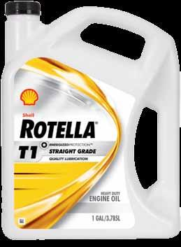 Shell rotella Shell Rotella T1 Heavy Duty Engine oil Shell Rotella T1 is an easy-flow monograde for quality lubrication and consistent performance that delivers well proven performance additives to