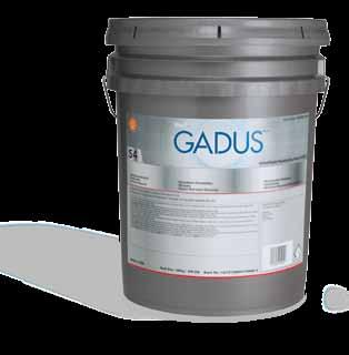 other shell products Gadus (continued) UOM 550026865 Gadus S3 V460XD 1 1*50kg WL Keg 550026866 Gadus S3 V460XD 1 1*18kg Pail 550027580 Gadus S3 V460XD 1 10*0.