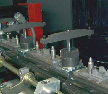 Pneumatic swing clamps > Applications Pneumatic swing clamps are