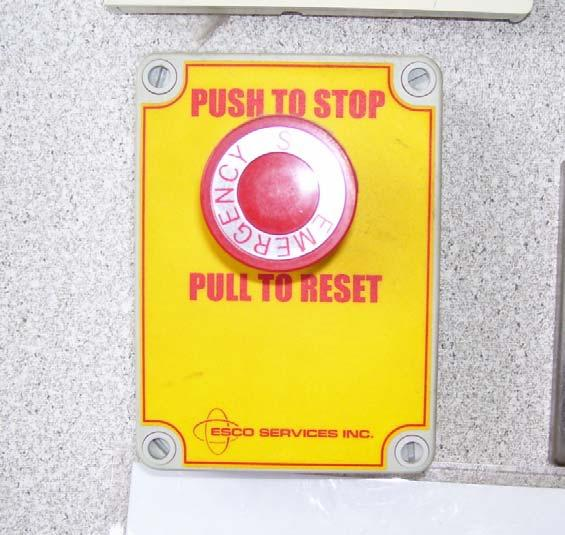 Emergency Stop As another safety precaution, an Emergency Stop is provided which shuts off fuel to all dispensers.