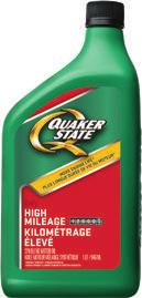 PASSENGER CAR MOTOR OIL QUAKER STATE DEFY HIGH MILEAGE TM ENGINE MOTOR OIL So your car s been around the block a time or two. That doesn t mean it s time to drive off into the sunset just yet.