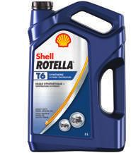 SHELL ROTELLA SHELL ROTELLA T6 FULL SYNTHETIC HEAVY DUTY ENGINE OIL Shell Rotella T6 features advanced multi-functional, low-ash additive technology in a synthetic base oil designed to provide highly