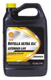 SHELL ROTELLA ULTRA ELC HEAVY DUTY & PREMIUM COOLANT Shell Rotella Ultra ELC TM Antifreeze Concentrate is extended life ethylene glycol antifreeze for heavy duty diesel, gasoline, and natural gas