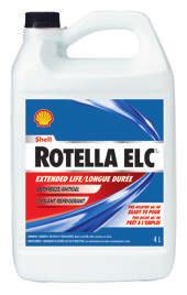 Shell Rotella Ultra ELC is suitable for both heavy duty and light duty applications without supplemental coolant additives (SCA s), making it ideal in mixed fleet applications.