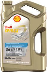 GEAR AND TRANSMISSION LUBRICANTS SHELL SPIRAX The Shell Spirax range of dedicated axle, gear and automatic transmission fluids is designed to protect equipment, extend vehicle component life and