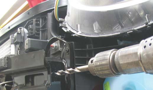 baseplate safety cables, secure the cables to a solid piece of the vehicle frame as