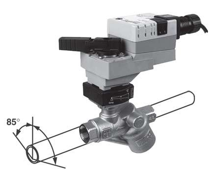 Pressure Independent Characterized Control Valve () Operation and Installation FLOW PATTERN consists of a differential pressure regulator in series with a control valve.