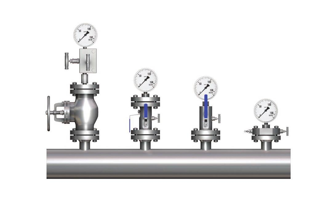 Integral Block & Bleed Valves Introduction SUPERLOK's response to the demand for reduction in leakage paths has been the combination of primary and secondary valves into one compact unit.