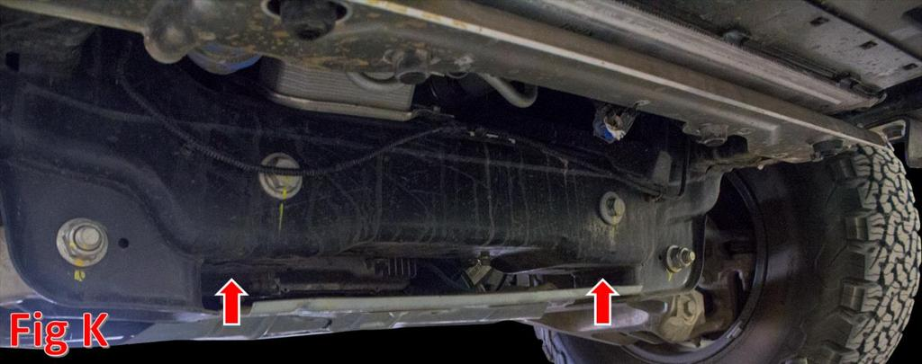 3. Line the 6 mounting holes on the bumper up with the 6 mounting holes on your truck s frame