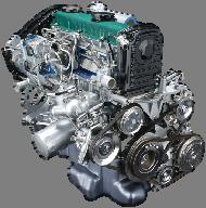 Engine & Latest (M9R) Clean Engine Restrains the generation of NOx and soot