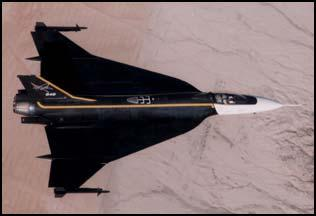 F-16 Experimental Variants F-16XL Optimized for supercruise