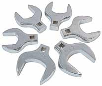 "10 piece metric flare Nut crowfoot wrench set > 3/8"" Drive > Mounted on a convenient storage rail > Also available individually"