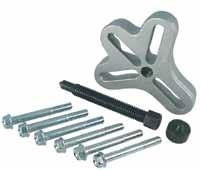 and a broader range of pulling capability > Ideal for pulling gears, bearings, pulleys and other press fit parts 3907 Maximum reach (in.) 3.25 Maximum spread (in.) 4.