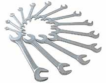 "991605 1-7/8"" 991603 1-5/8"" 991606 2"" 14 Piece Angle HEAD Metric Wrench Set > Fully polished drop forged alloyed steel > 15 and"