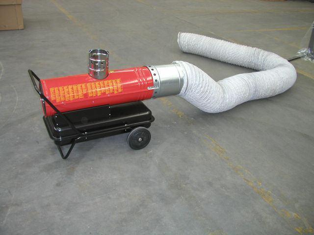 Air Ducting (Indirect Heaters only) GRY-I 25&40 WU GRY-I 15 WU