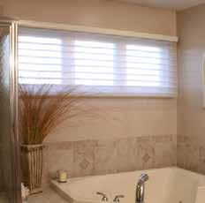 HORIZONTAL BLINDS Closed position: The
