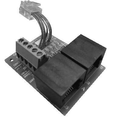T echnical Data DCT Splitter Glydea Part #9015442 FUNCTIONS Pluggable DCT Splitter Module for Glydea DCT motors. For Group or Master and Individual Control For internal use only.