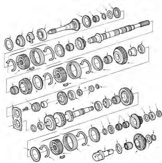Standard Transmission And Transfer Case Parts Catalog Catalogue De