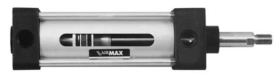 250 PSI NFPA Pneumatic Cylinders Integrated magnetic activator and air cushions - For compressed air - For industries, agriculture, robotics and production equipment - NFPA Interchangeable -