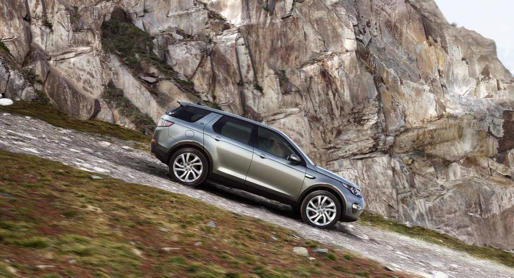 MAKE IT YOURS This brochure shows you how to make your Discovery Sport truly yours, inside and out.