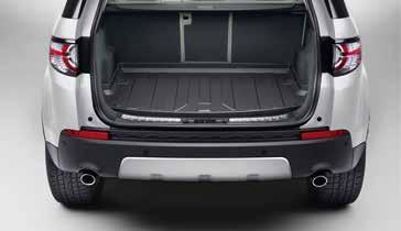 1. 2. 4. LOAD CAPACITY 5. 3. 2. Luggage Partition Full Height Designed to prevent luggage from entering the passenger compartment.